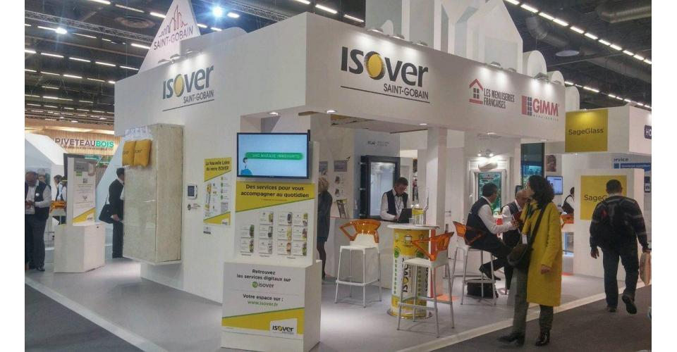 Stand Isover Saint-Gobain Batimat 2017